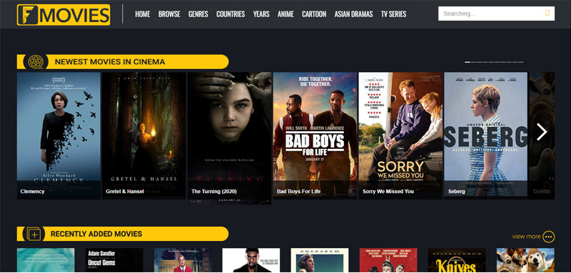 Fmovies website