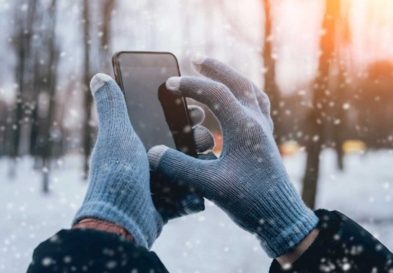 cold weather impact on phone